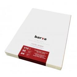 БУМАГА Д/СТРУЙНЫХ БАРВА FINE ART (IP-ZA215-098, О/С, ШЕЛК. МАТОВАЯ), 215 Г/М, A4, 50Л