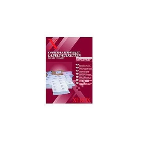 НАКЛЕЙКА XEROX MONO LASER 10UP (SQUARED) 105 X 58 MM 100 Л. // КОД: 003R97452