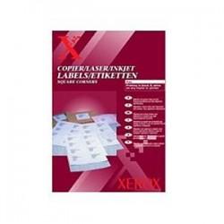 НАКЛЕЙКА XEROX MONO LASER 12UP (SQUARED) 105 X 44 MM 100 Л. // КОД: 003R97405