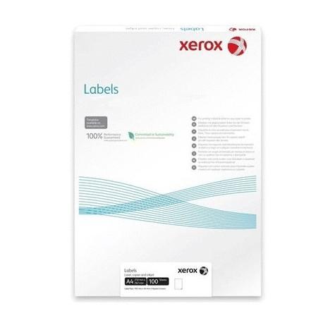 НАКЛЕЙКА XEROX WHITE MATT POLYESTER A4 100 Л. // КОД: 003R98003
