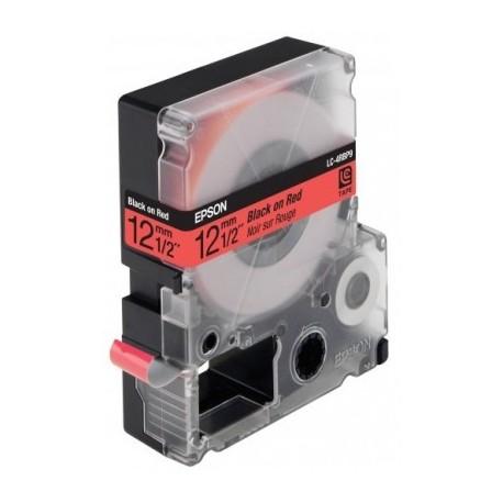 ЛЕНТА LC4RBP9 LW-300/400/400VP PASTEL BLACK/RED 12MMX9M // КОД: C53S625402