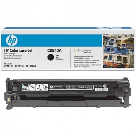 ЗАПРАВКА КАРТРИДЖА CB540A (125A) ДЛЯ HP CLJ CP1216