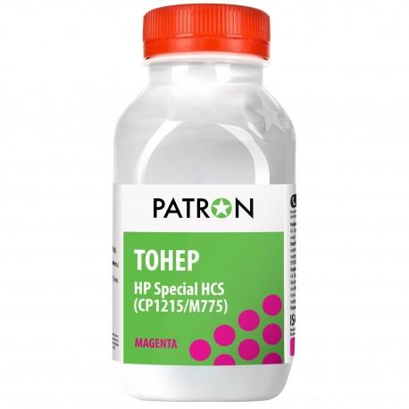 ТОНЕР HP HCS CP1215/M775, КРАСНЫЙ, ФЛАКОН, 50 Г, PATRON