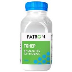 ТОНЕР HP HCS CP1215/M775, СИНИЙ, ФЛАКОН, 50 Г, PATRON