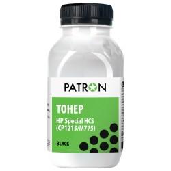 ТОНЕР HP HCS CP1215/M775, ЧЕРНЫЙ, ФЛАКОН, 100 Г, PATRON