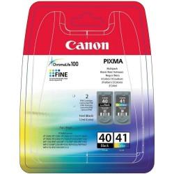 КАРТРИДЖ CANON PG-40/CL-41, (0615B043, 0615B025/0617B025, MULTI PACK), ЧЕРН.+ЦВ.