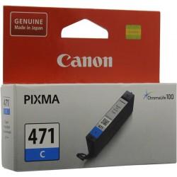 КАРТРИДЖ CANON CLI-471C, (0401C001), СИН.
