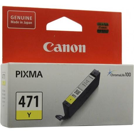 КАРТРИДЖ CANON CLI-471Y, (0403C001), ЖЕЛТ.