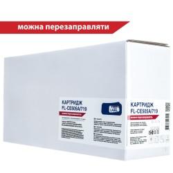 КАРТРИДЖ HP LJ P2055/CANON LBP-6300, (CE505A/05A, 719), FREE LABEL