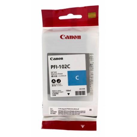 КАРТРИДЖ CANON PFI-102M, (0897B001), КРАС.