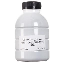 ТОНЕР HP LJ P1005, ФЛАКОН, 65 Г, (T125-S), TTI