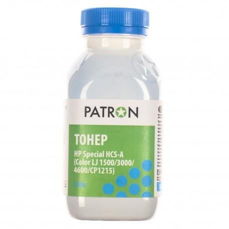 ТОНЕР HP HCS CLJ 1500/CP1215, СИНИЙ, ФЛАКОН, 50 Г, PATRON
