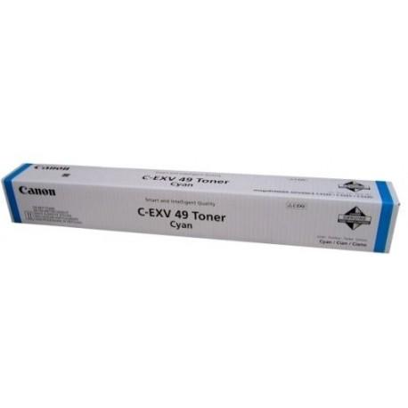 ТОНЕР-КАРТРИДЖ CANON IR-C3325, C-EXV49, СИНИЙ, (8525B002)