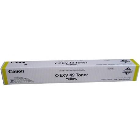 ТОНЕР-КАРТРИДЖ CANON IR-C3325, C-EXV49, ЖЕЛТЫЙ, (8527B002)