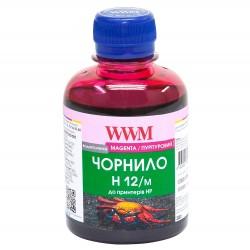 ЧЕРНИЛА HP №10/11/12 КРАСНЫЙ, (200 ГР, H12/M), WWM