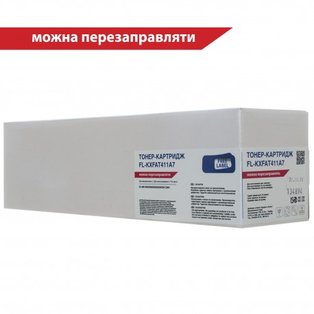 ТОНЕР-КАРТРИДЖ PANASONIC KX-FAT411A7, FREE LABEL