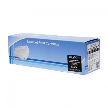 КАРТРИДЖ HP LJ P1566/CANON LBP-6200/MF-4550, (CE278A/78A, 726/728), DAYTON