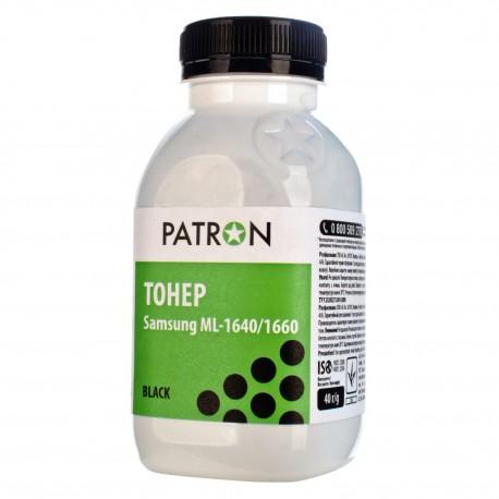 ТОНЕР SAMSUNG ML-1640, ФЛАКОН, 40 Г, PATRON, (SPECIAL)